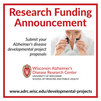 text promoting alzheimer's disease developmental projects