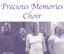 precious memories choir - group of men and women singing