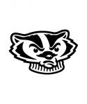 bucky badger headshot